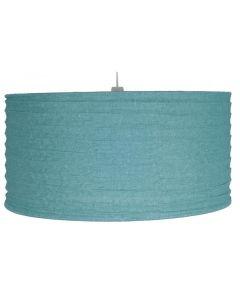 50cm Smoke Blue Jute Easy Fit Pendant
