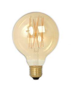 Calex LED Filament Globe Gold Finish