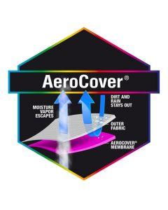 Free Arm Parasol Aerocover 250 x 55/60