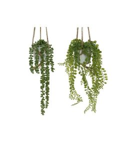 Set of 2 Plant Artificial Plant in Pot