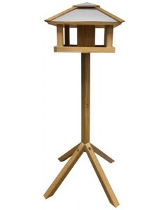 Billian Bird Table with Steel Roof