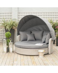 Stone Grey Barbados Day Bed