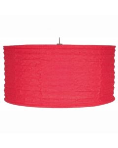 50cm Red Jute Easy Fit Pendant