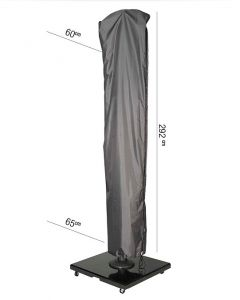 Free Arm Parasol Aerocover 292 x 60/65cm