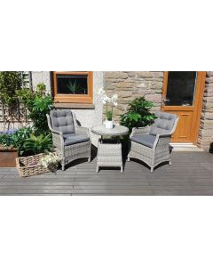 Levante Bistro Set with Height Adjustable Table