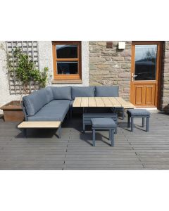 Tivoli Adjustable Corner Lounge Set