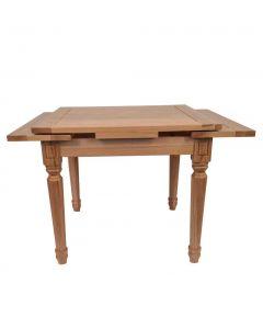 Grange Extending Dining Table 90x90-150cm. Natural Oak