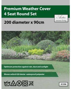 Premium Round 4 Seat Set Weathercover