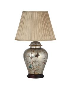 Hand Painted Butterfly Ceramic Table Lamp