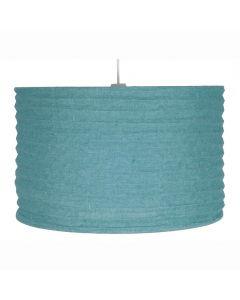 35cm Smoke Blue Jute Easy Fit Pendant