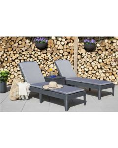 Jaipur Lounger 2 Pack With Ice