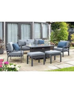 Titchwell Lounge Set Grey
