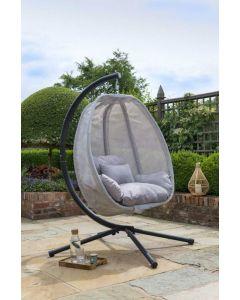 Folding Textilene Egg Chair